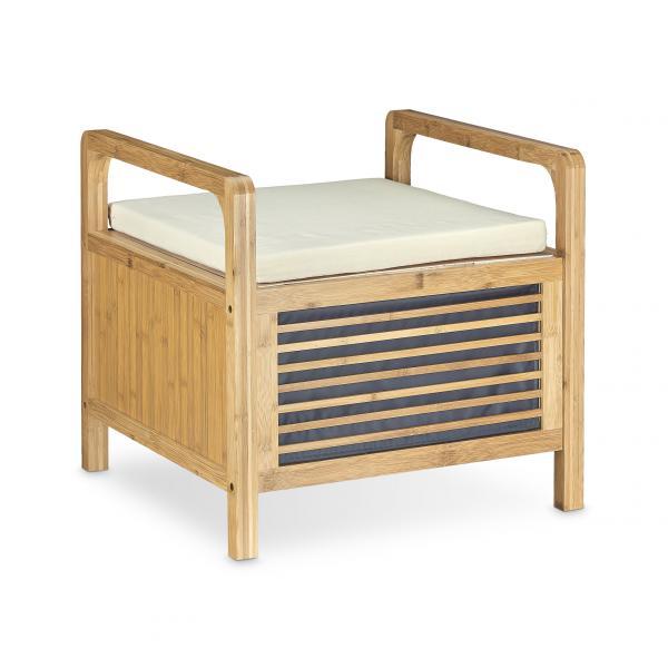 Sitzhocker Mit Stauraum bambus sitzhocker mit stauraum 15106960 restposten de