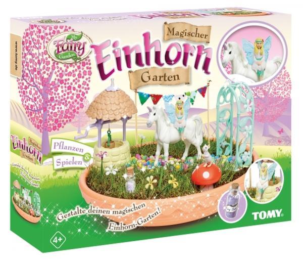 TOMY MY FAIRY GARDEN Magischer Einhorn Garten