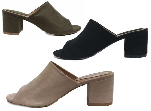 Damen Woman Sommer Trend Pantolette Sandalette Sandale Schuh Shoes Business Freizeit - 9,49 Euro