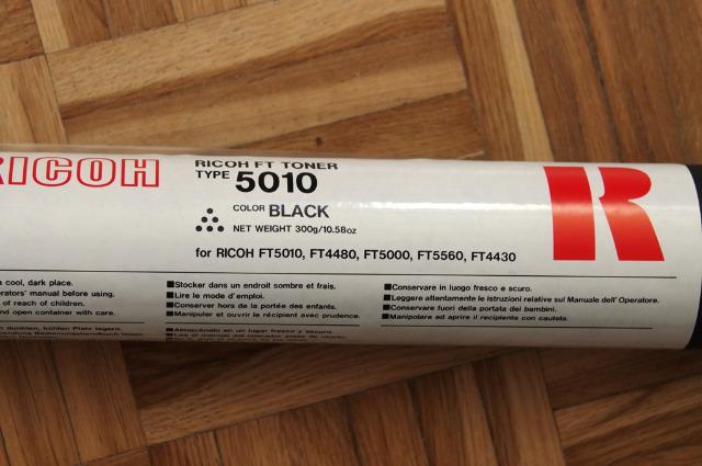 Original RICOH Toner FT Type 5010 (FT4430, FT4480, FT5000, FT5560)