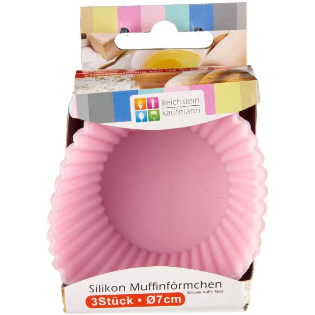 28-771741, Silikon Backformen für Muffins 3er Pack