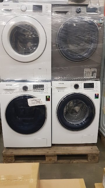 Samsung white goods washing, drying, dishwashers