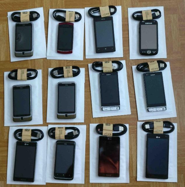 Restposten aus Appel, Sony, LG, Motorola, Nokia, HTC, Samsung Smartphones