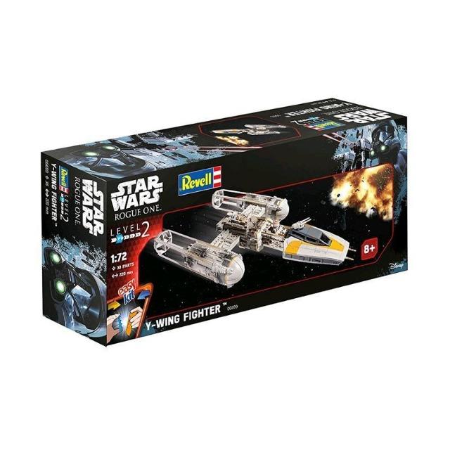 27-51850, REVELL Bausatz Star Wars Y-Wing Fighter - Maßstab 1:72