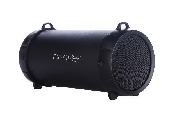 Denver BTS-53 Bluetooth Soundbox schwarz Lautsprecher Bassbox 10W MP3