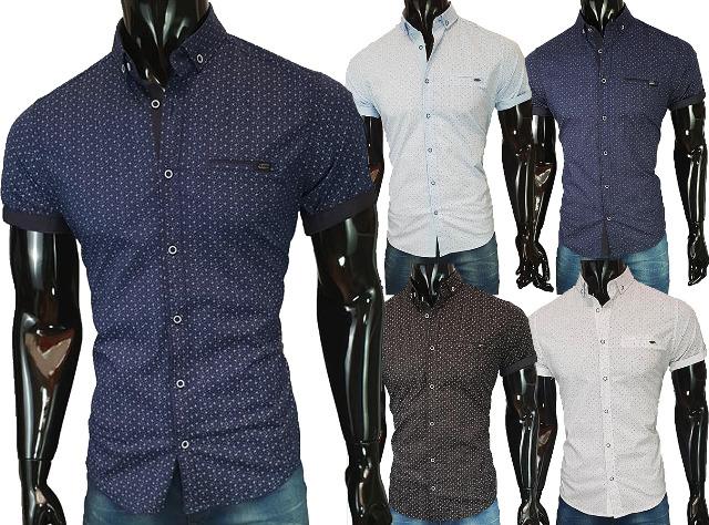 Hochwertiges Herren Stretch Hemd Casual Slim Fit Freizeit Business Herrenhemd Oberhemd - 12,49 Euro
