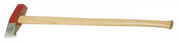 Holzspalthammer 3000g Stiel-L. 800mm mit Eschenstiel Kopf lackiert