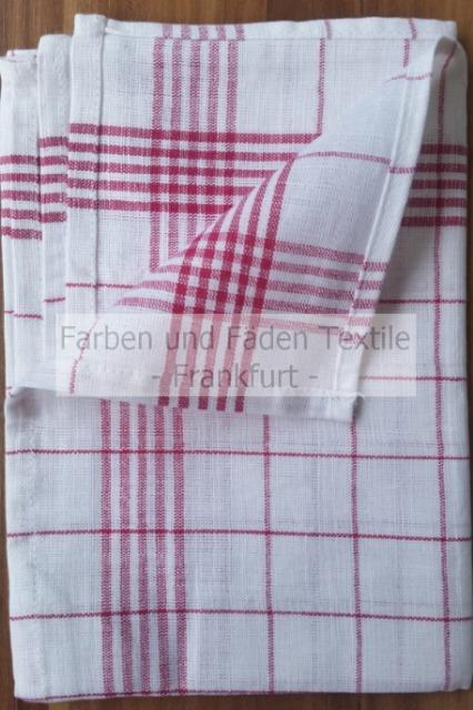 Halbleinen Geschirrtücher 10er Pack , Geschirrhandtuch, Geschirrtuch, 50 x 70 cm, 70g/Tuch