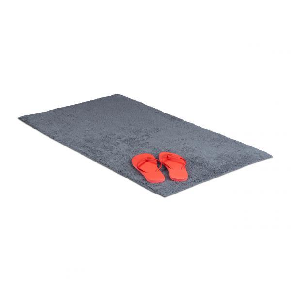 Badteppich verschiedene Größen grau