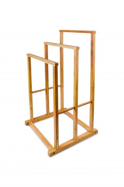 Bambus Handtuchhalter 3-fach