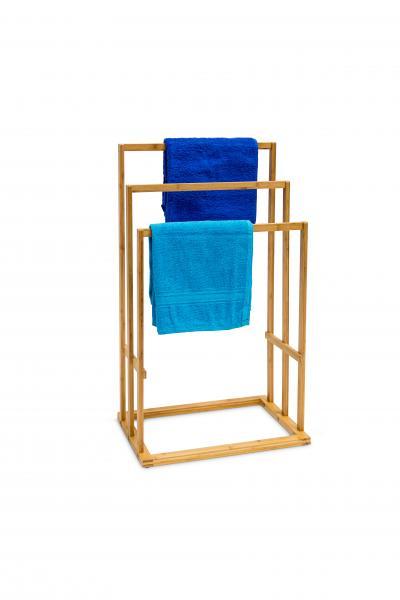 Bambus Handtuchhalter 43x30x82cm