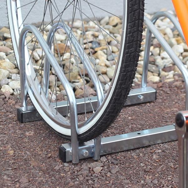 Fahrradständer 2x Boden & Wandmontage