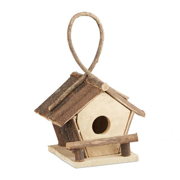 Kleines Vogelhaus zum Aufhängen