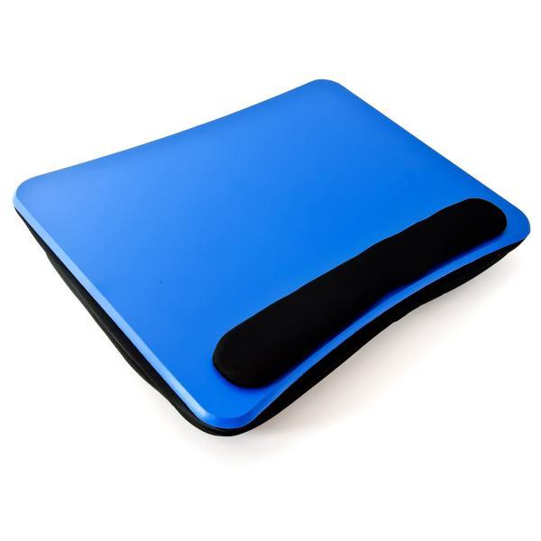 Laptokissen mit Handauflage Blau