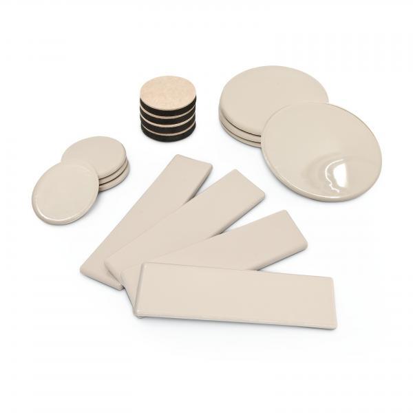 Möbelgleiter Set Kunststoff 16-teilig