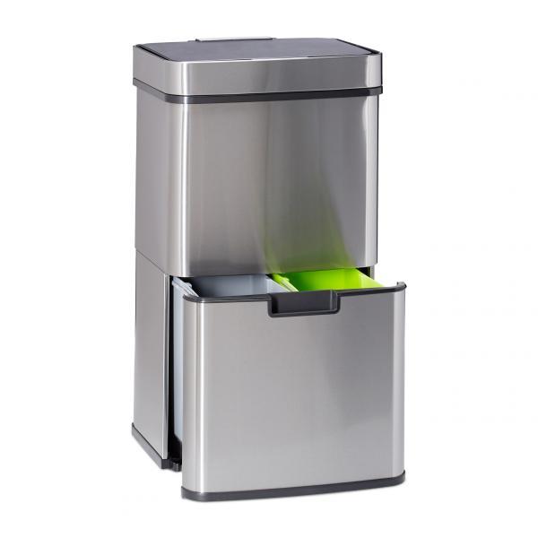 Mülltrennsystem 3-fach mit Sensor