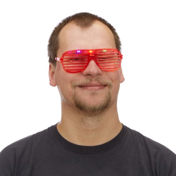 Partybrille LED