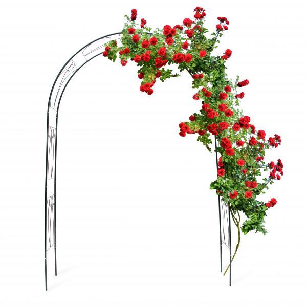 Rankbogen für Rosen mit Verzierung