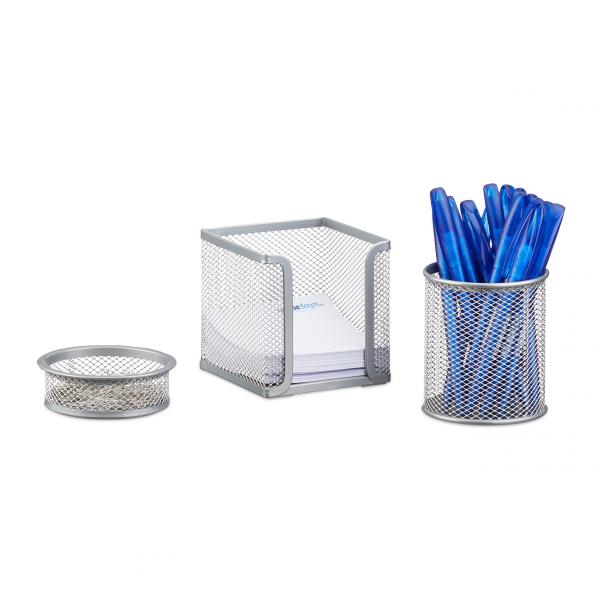 Schreibtisch Organizer Set, 3-teilig