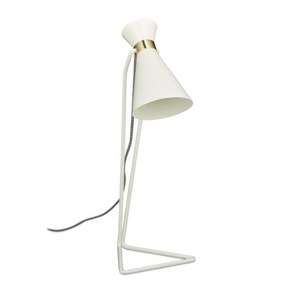 Schreibtischlampe geometrisch