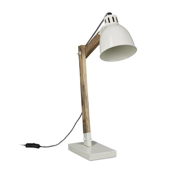 Schreibtischlampe Holz Skandinavisch