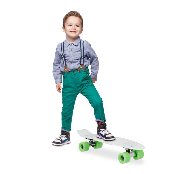 Skateboard Glow 22 Zoll