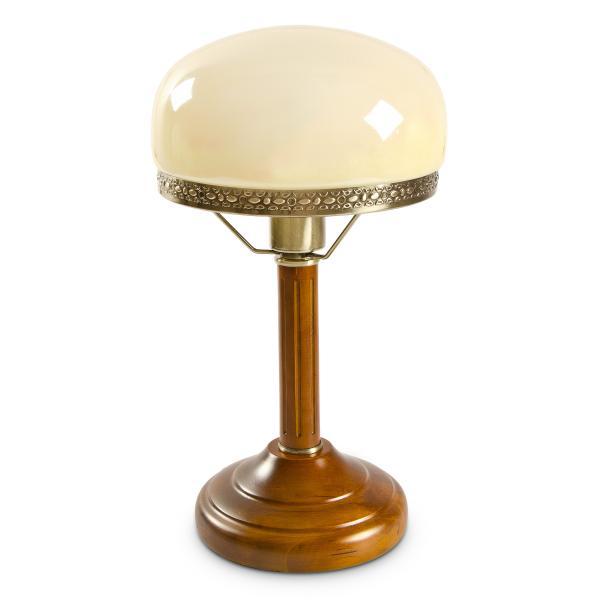 Tischlampe Beige Antik Look