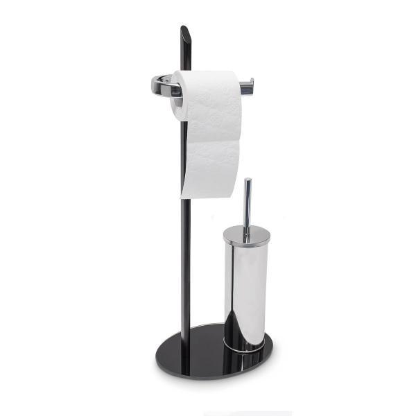 WC Garnitur KLAAS Edelstahl-Optik