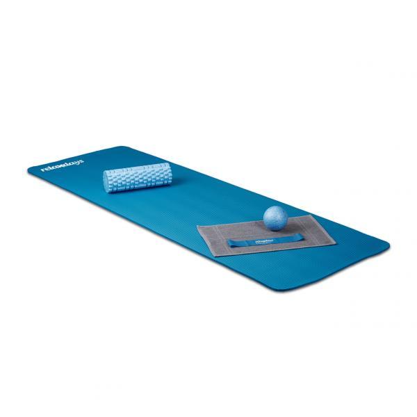 Yogamatte 1 cm dick einfarbig