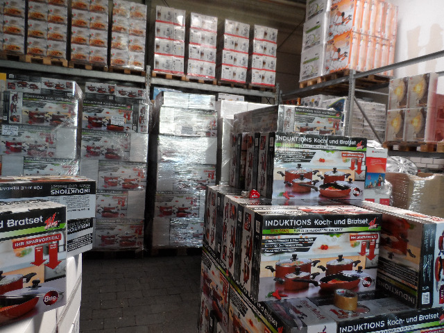 Mixpaletten,Mischpaletten,Elektro Küchengeräte,Markenware, LKW,Container EXPORT 320,00€ pro Palette