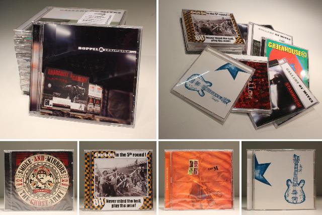 ca. 5.000 Stk. Musik-CDs / Mix Neuware Restposten