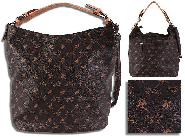 Damen Trend Tasche Beverly Hills Polo Club Abendtasche Handtasche Schultertasche Umhängetasche Shopper - 14,90 Euro
