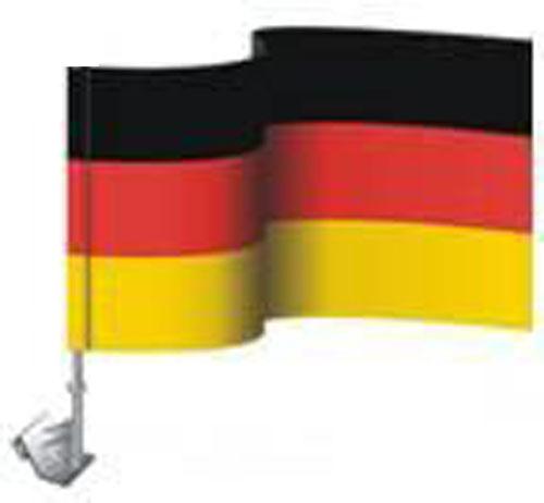 Autofahne / Autoflagge Fahne Flagge DEUTSCHLAND Fussball WM  30x45cm