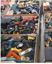 Sonderposten Elektrowerkzeug - Kundenrückläufer/Retouren A/B/C Mix Ware Handwerkzeuge Elektro / Benzin Sägen, Generatoren, Bohrmaschinen usw