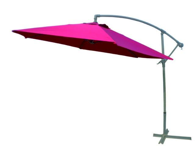ampelschirm sonnenschirm 3m mit kurbel stahlfu und solar led beleuchtung 14447760. Black Bedroom Furniture Sets. Home Design Ideas