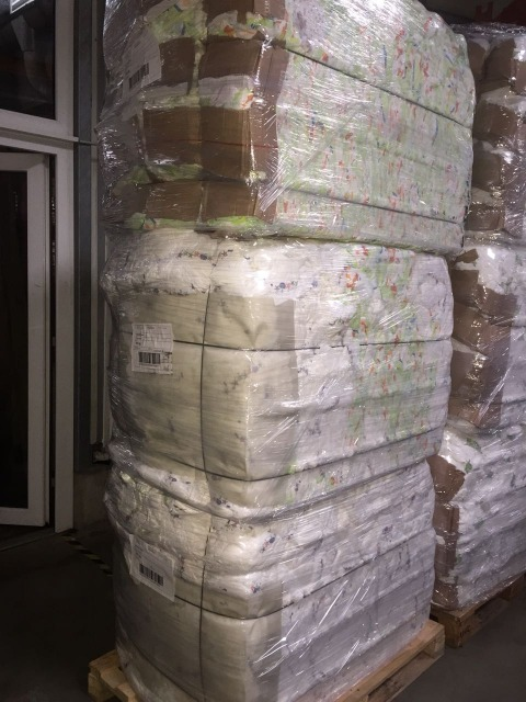 Baby Diapers - Mamia - Baby Dream- B-Grade- in Bales - Germany