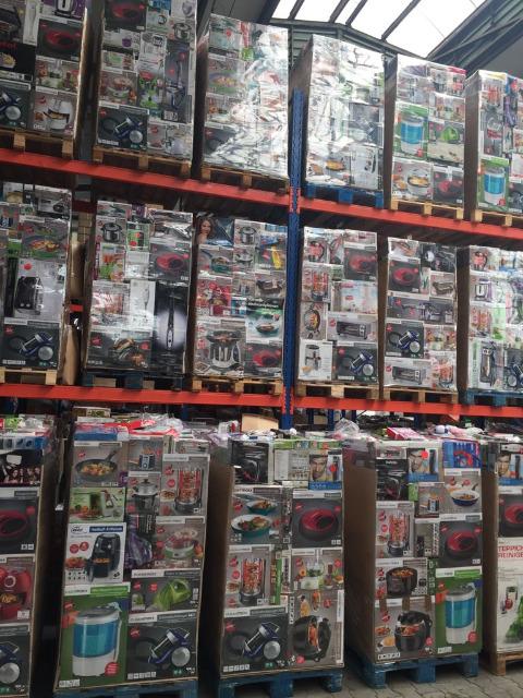 Mischpaletten Mixpaletten Elektroküchengeräte LKW Container für EXPORT ab 250 €