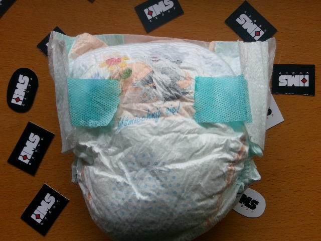 Baby Windeln in Ballen // Baby Diapers in Bales made in Czech Republik