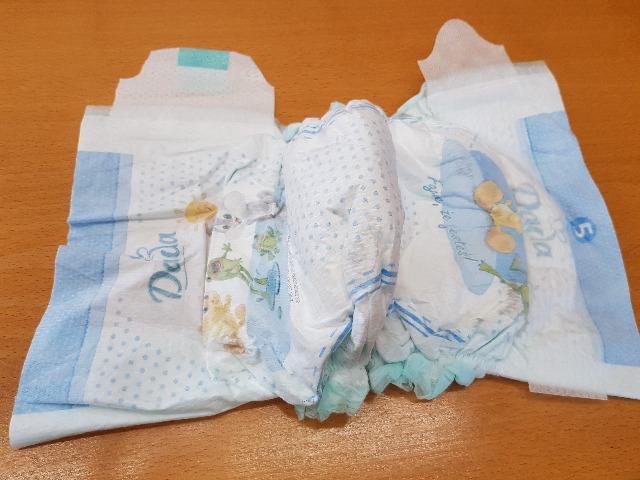 Baby Windeln in Ballen // Baby Diapers in Bales made in Czech Republik