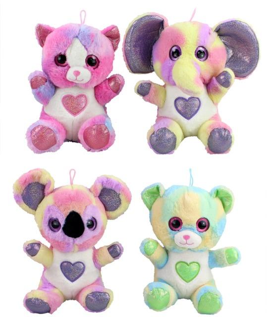 27-30263, Plüschtiere Fancy Animals 28 cm, Elefant, Katze, Bär, Koala