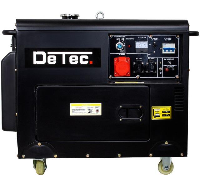 Dieselgenerator Starkstrom Stromerzeuger 5KW Generator 230V + 400V + 12V + Not Stromaggregat Stromgenerator