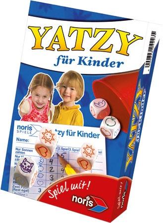 27-46182, NORIS Spiel Yatzy für Kinder Reisespiel, Mitbringspiel