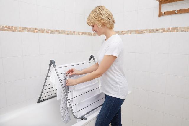 BAMODI Wäscheständer Für Badewanne - 10 M Trockenlänge - nur noch 881 Stück vorhanden in BREMEN