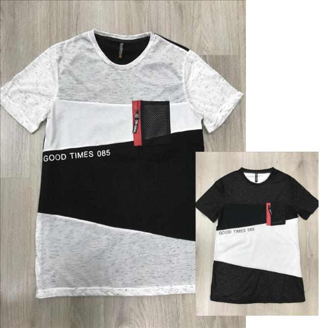 Herren Freizeit T-Shirt Oberteil