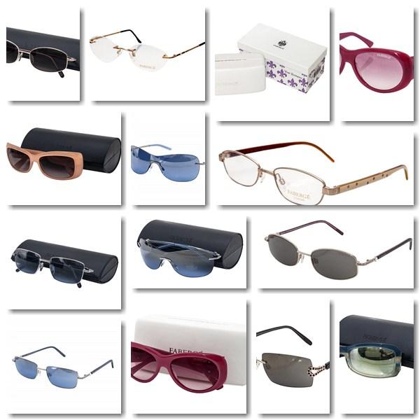 Faberge brille ,neue,original mit etui,hochwertige marke