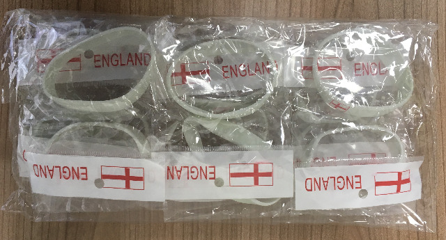 Soccer Silicone Wristbands & Magnet
