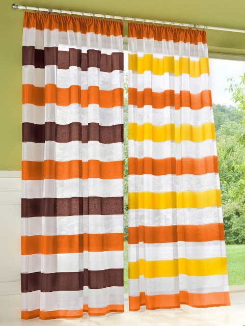 1300 x Fertiggardine auspacken und Aufhängen - Made in Germany Langgardinen Blumenfenster Seitenschal Stückpreis 5,90 €