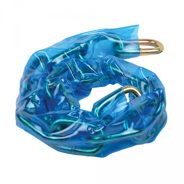 Silverline Sicherheitsstahlkette für Vorhängeschlösser, abgerundete Glieder