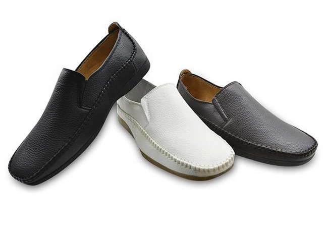 Herren Men Mokassin Slipper Loafer Freizeit Business Sommer Schuh Halbschuh Slip-on Schuhe Shoes - 11,90 EUR