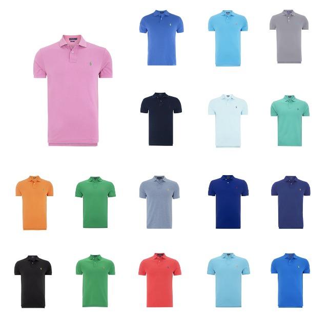 7f8be3c6595d06 Polo Ralph Lauren Poloshirt mit Logo-Stickerei Herren Slim Fit ...